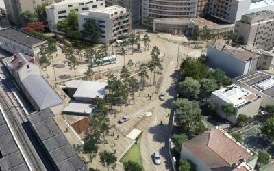 Place de la gare à Bourg-la-Reine : Présentation du projet